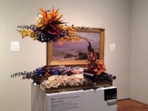 The Two Majesties, Jean-Leon Gerome floral art: Metro Market-Downtown Milwaukee